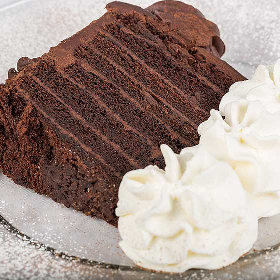 Deep Dark Fudge Cake