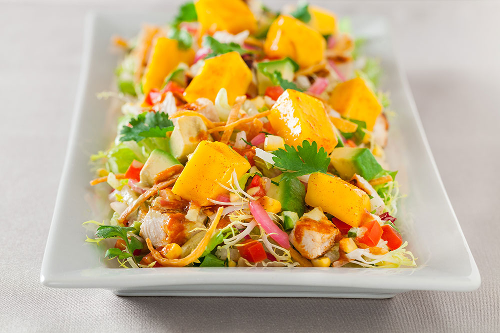 Chili-Lime Chicken and Mango Salad